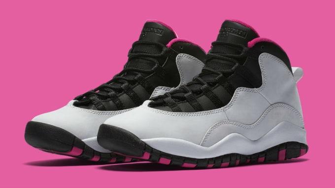7591f8b411da ... buy air jordan 10 vivid pink release date 7cbc4 7bb7c