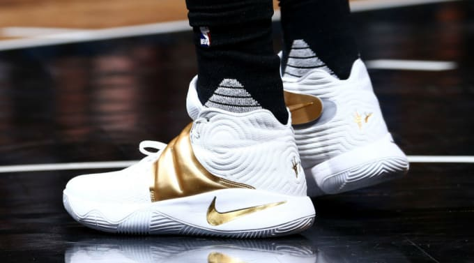 7b1d14316a7b2 promo code for kyrie irving wears white gold nike kyrie 2 1 8b891 7ae67