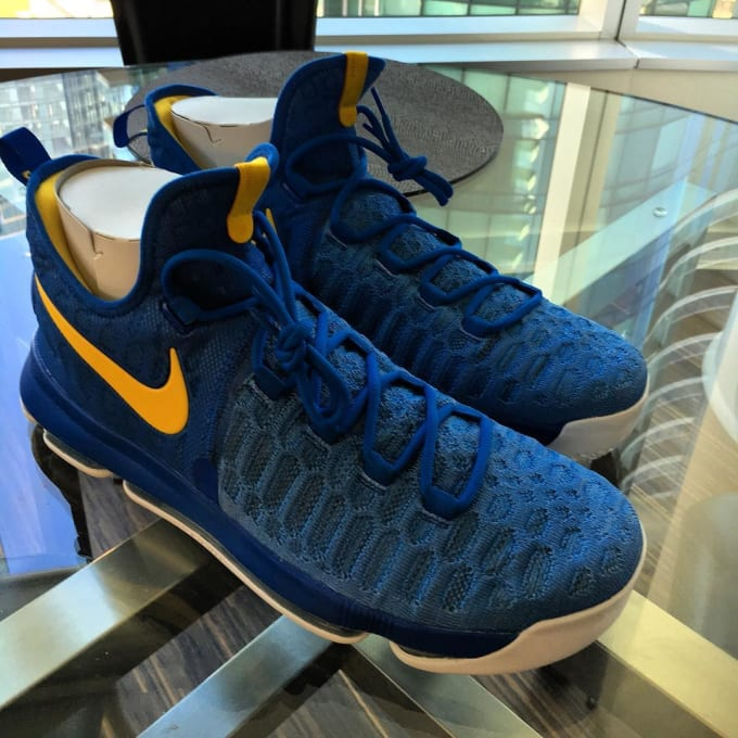 competitive price 71f9e 61497 ... clearance nikeid kd 9 golden state warriors 8a645 577dd
