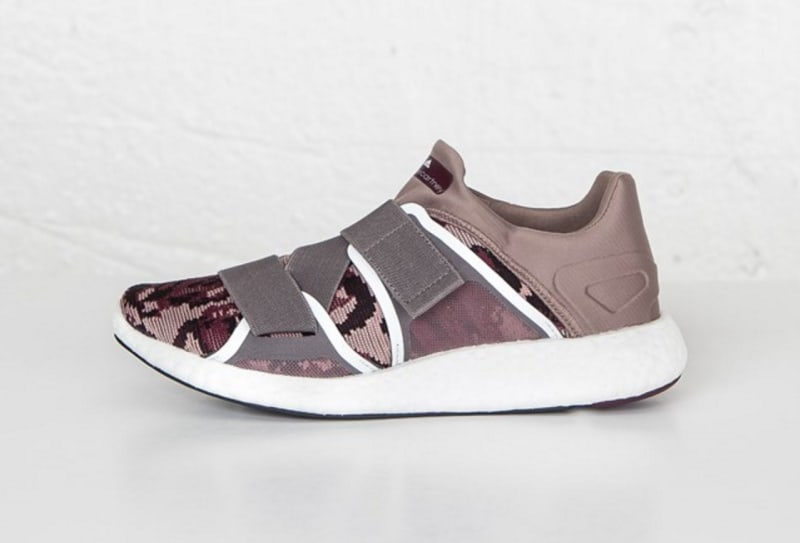 Stella McCartney for Adidas Camo Low-Top Sneakers
