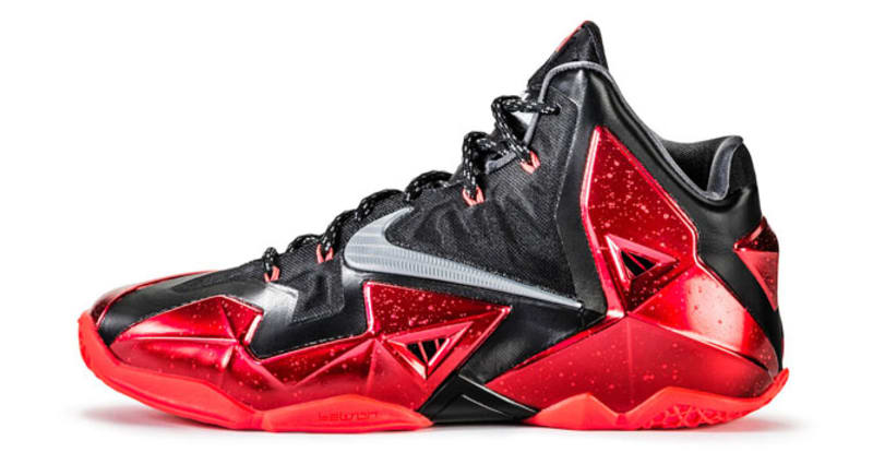 The LeBron 11 may have cost $200, but it looked like a million bucks.  Unfortunately, you could easily find better playing shoes for half the  price.