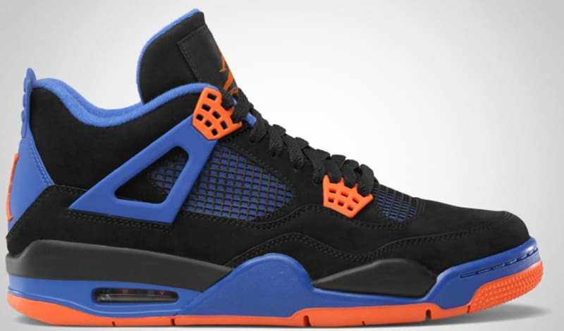 air jordan 4 black blue
