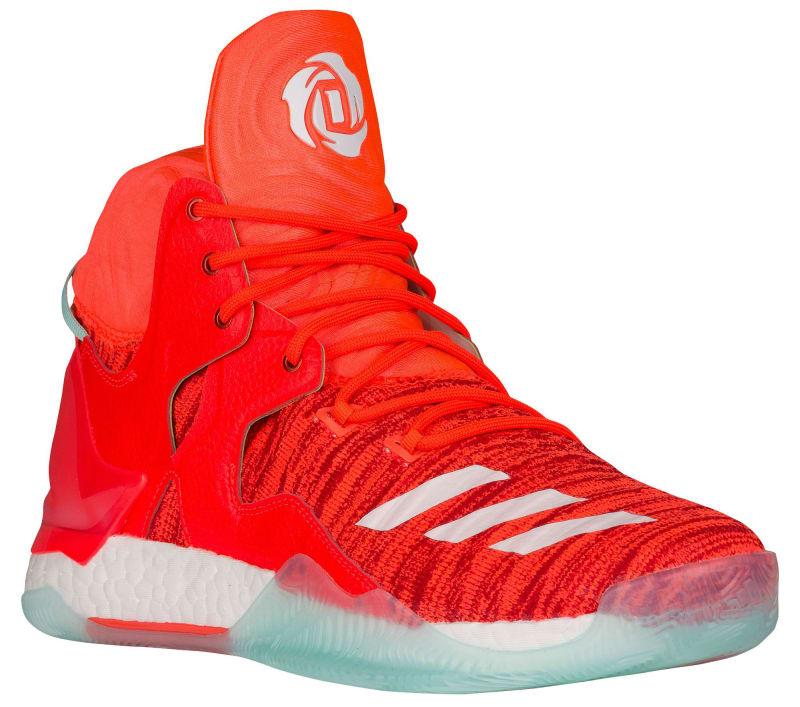 Adidas D Rose 7 Orange Knicks 1