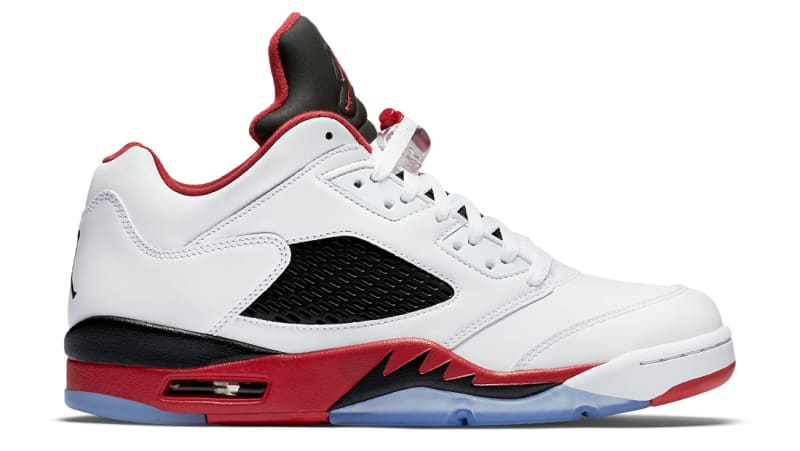 air jordan 5 fire red history facts