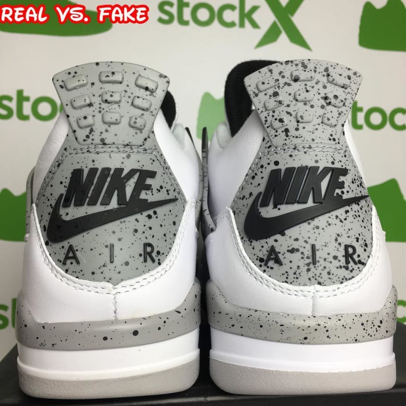 Authentic Air Jordan IV White Cement
