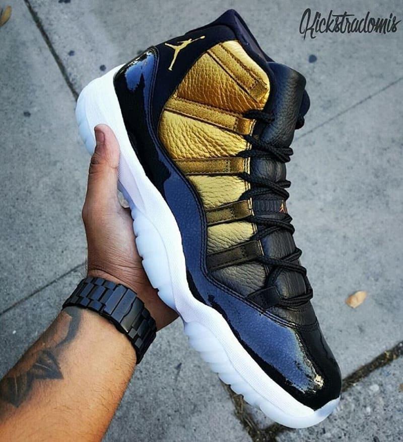 new concept 8a863 c9d4e Order Nike Air Jordan 11 Low Nightsnake Blue Snakeskin Black Yel