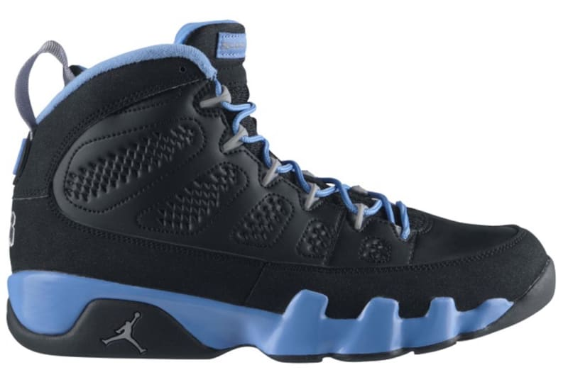 air jordan 9 retro dark charcoal metallic paint