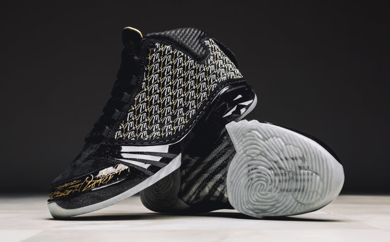 Black Trophy Room Jordan 23s