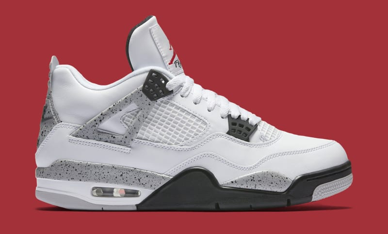 air jordan 4 white cement restock 2016 calendar