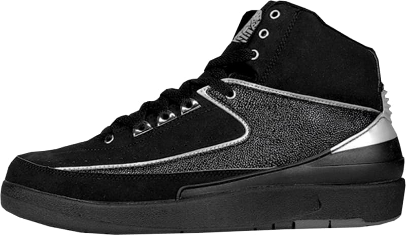 air jordan 2 black chrome