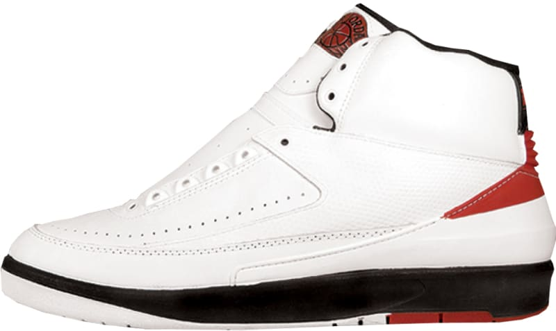 Air Jordan 2 Retro White Red Black 1994