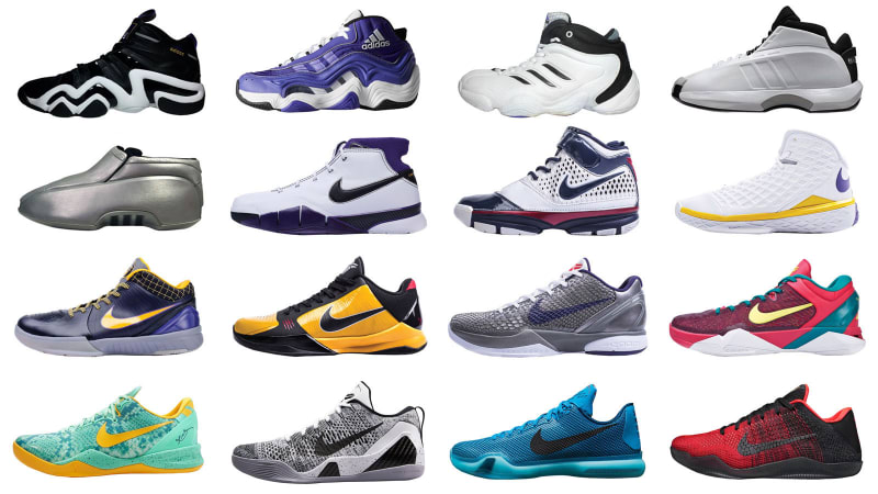 While Kobe Bryant confirmed that his signature line with Nike will continue  past his playing days, his on-court sneaker legacy will cut off at 16  models.