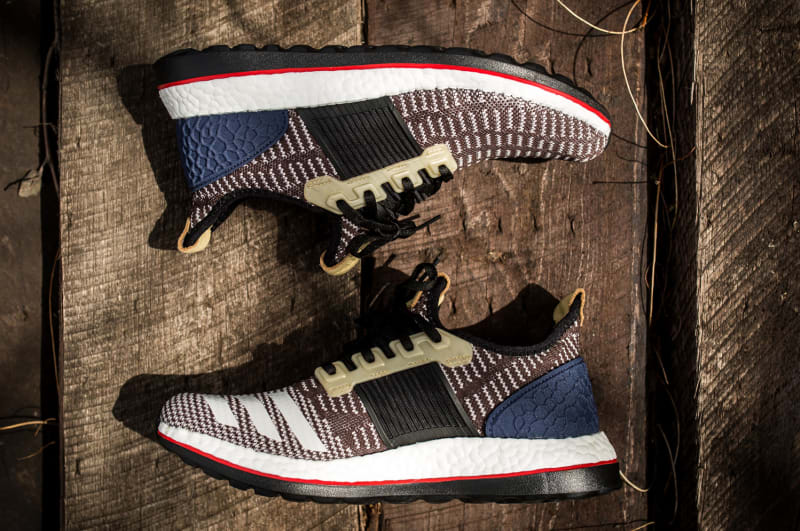 e4a203ff975d1 ... An Adidas Boost Collaboration Released This Weekend  Kolor adidas Pure  Boost ZG ...