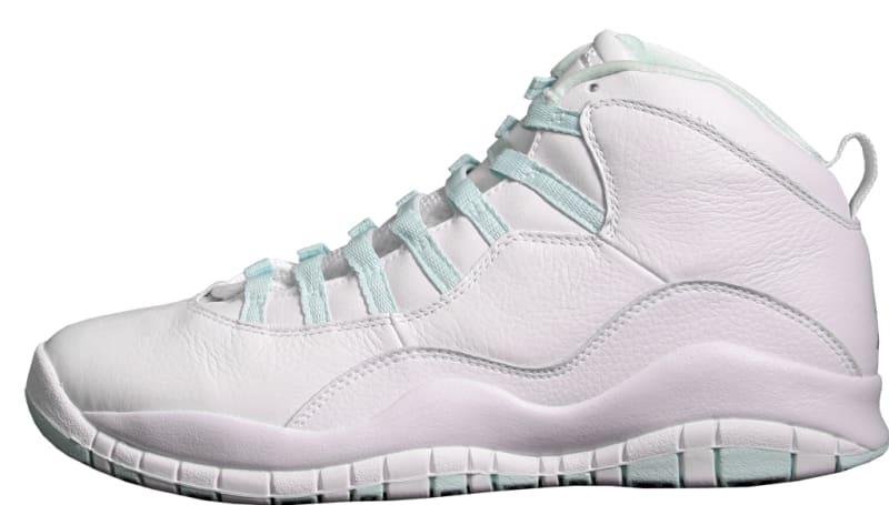 Air Jordan 10 Retro Women\u0027s \u0027Ice Green\u0027