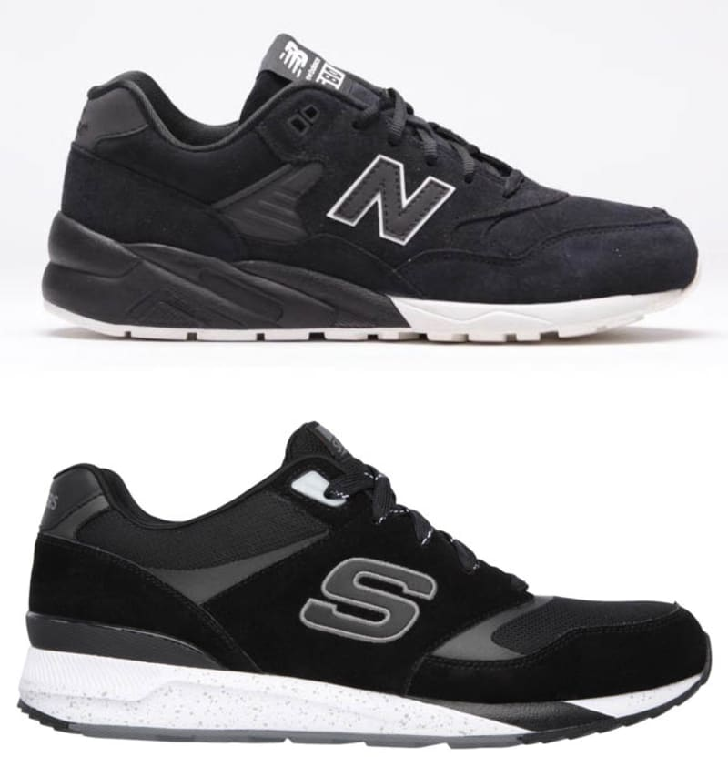 skechers shoes. skechers price: $65. execution: 5/10. what could possibly be more of a dad shoe that pair new balances? other than chef currys? shoes 9