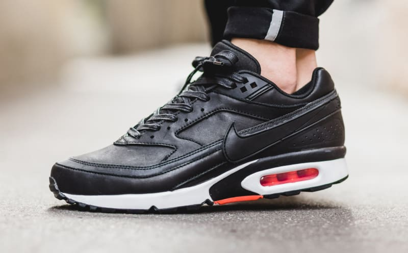 New Nike Air Max BW Leather All Black