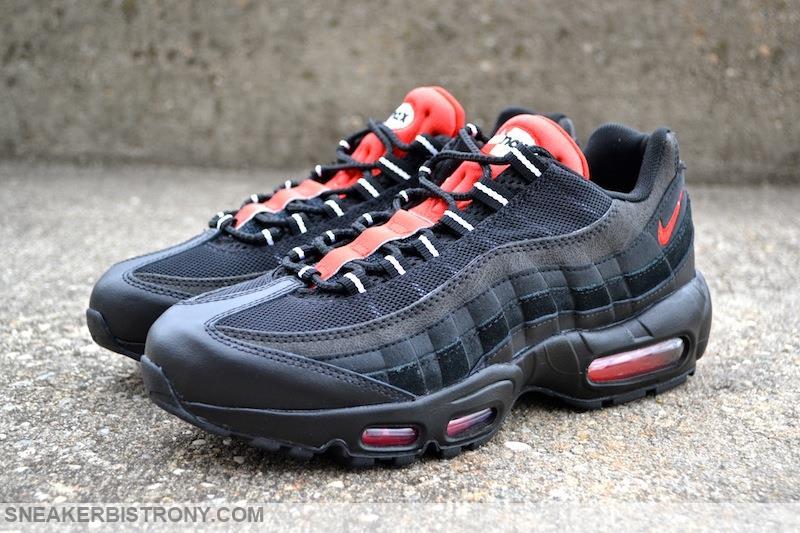 red black nike air max 95