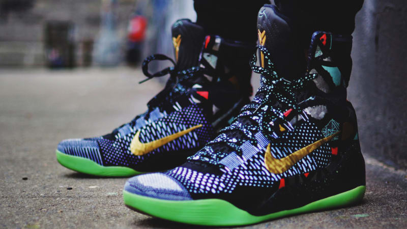 4732ecd2513 ... Nike Kobe 9 Elite High Nike Basketball NOLA Gumbo ...