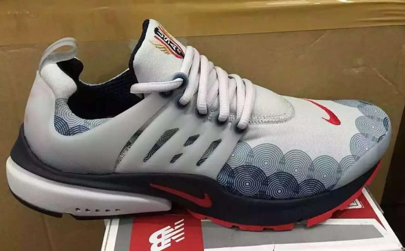 Nike Nike Air Presto Olympic USA White Running Shoes