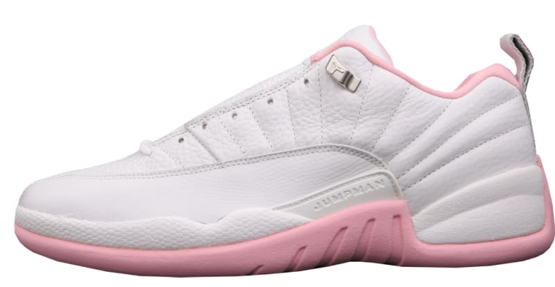 78712e46cf39 ... Air Jordan 12 Retro Low Womens 308306-161. WhiteReal Pink-Metallic  Silver . ...