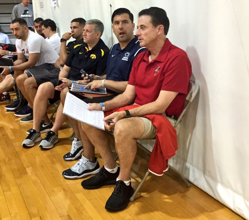 Image result for rick pitino recruiting