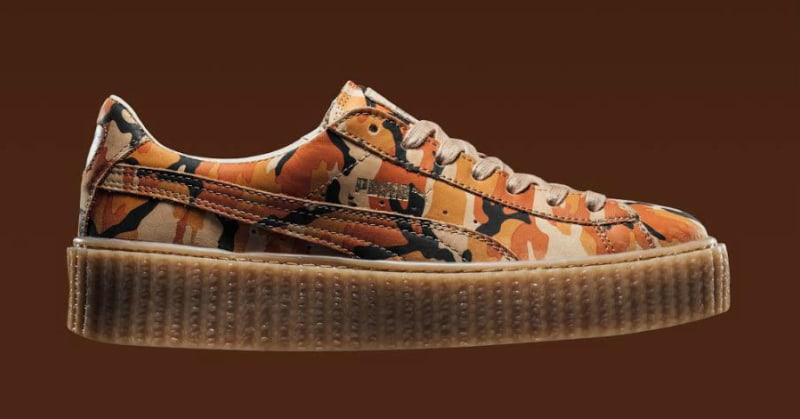 Fenty x Puma Camouflage Creeper Sneakers