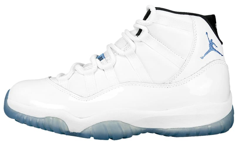 air jordan xi legend blue restock definition
