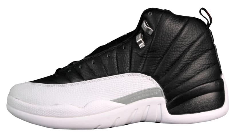 air jordan 12 black and white