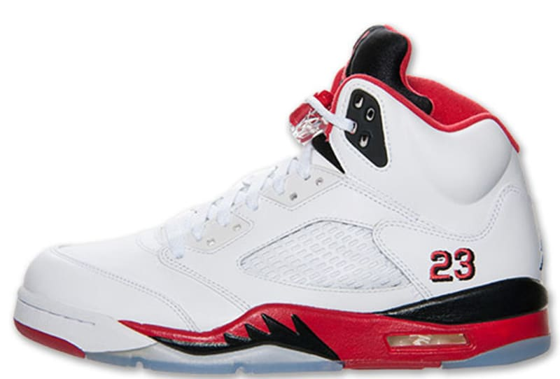 air jordan v original white red-black 23 and me vs ancestry