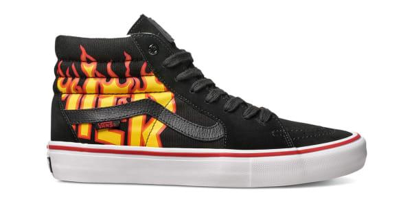 Thrasher x Vans Sk8-Hi (Flames) | Vans