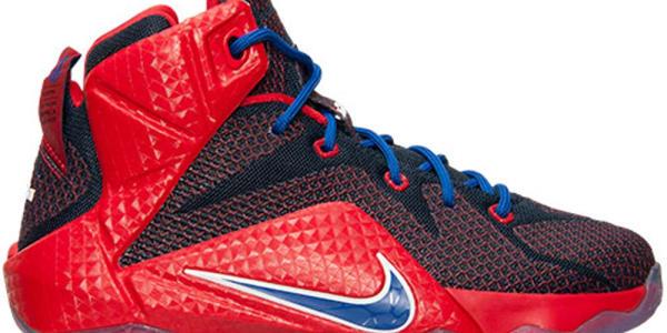 Nike LeBron 12 GS University Red/Game