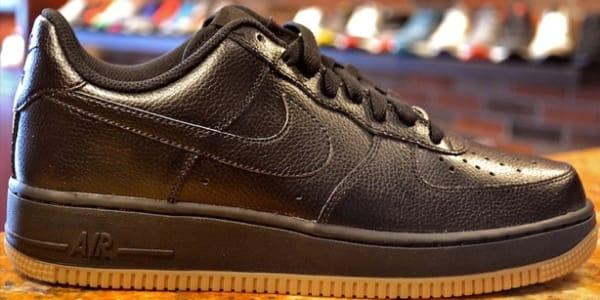 Nike Air Force 1 Low Black/Black-Gum