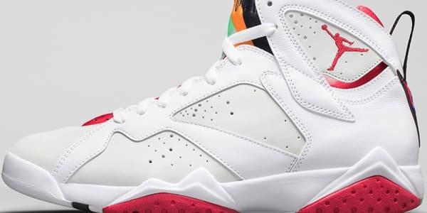 Air Jordan 7 Retro White/True Red-Light