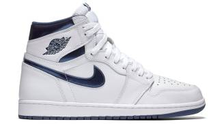 "Air Jordan 1 Retro High OG ""Metallic Navy"""