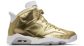 "Air Jordan 6 Retro Pinnacle ""Metallic Gold"""