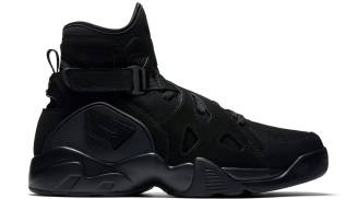 "Nike Air Unlimited ""Triple Black"""