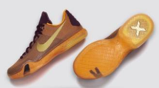 Nike Kobe 10 Silk Road Merlot Gold Villain Orange