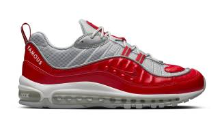 "Nike Air Max 98 x Supreme ""Varsity Red"""