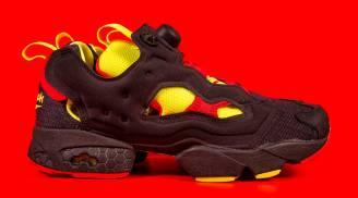 """Reebok Instapump Fury x Packer Shoes """"OG Division"""" (Black)"""