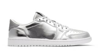 "Air Jordan 1 Retro Low OG Pinnacle ""Metallic Silver"""