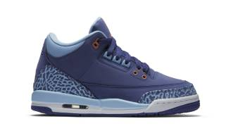 "Air Jordan 3 Retro GS ""Purple Dust"""