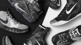Nike LeBron 12 BHM Black White Metallic Silver