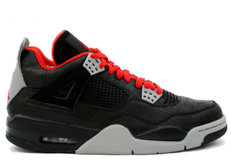 Air Jordan 4 Retro \u0026quot;Black/Laser\u0026quot; Resale Price