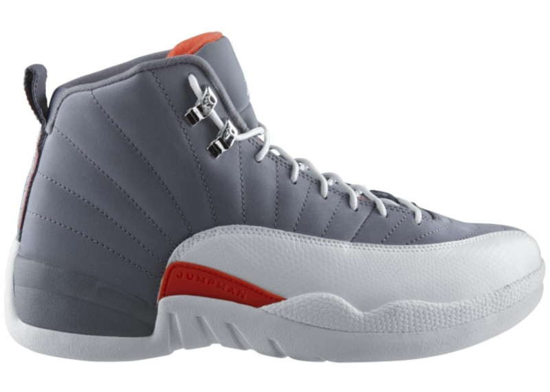 Air Jordan 12 Orange Grey Release Date