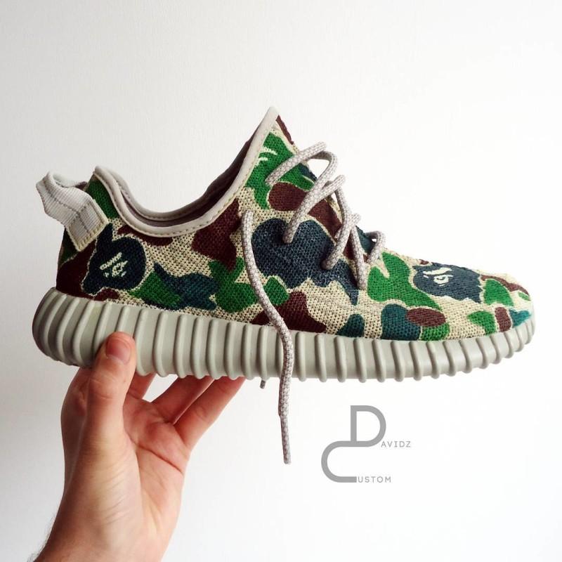 Adidas Camo Shoes Yeezy