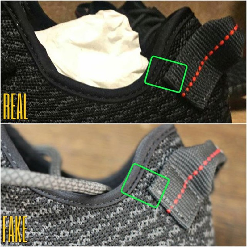 Yeezy Fake Vs Real