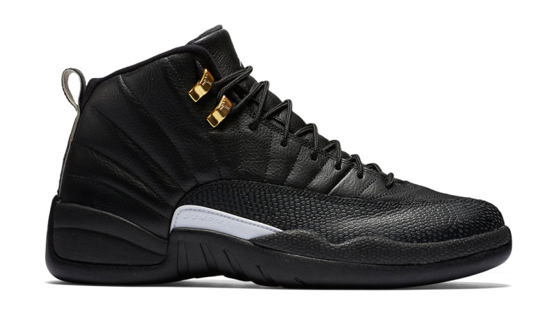 b36e4c1fe79f Air Jordan 12 Retro  The Master  130690-013. Black Rattan White-Metallic  Gold