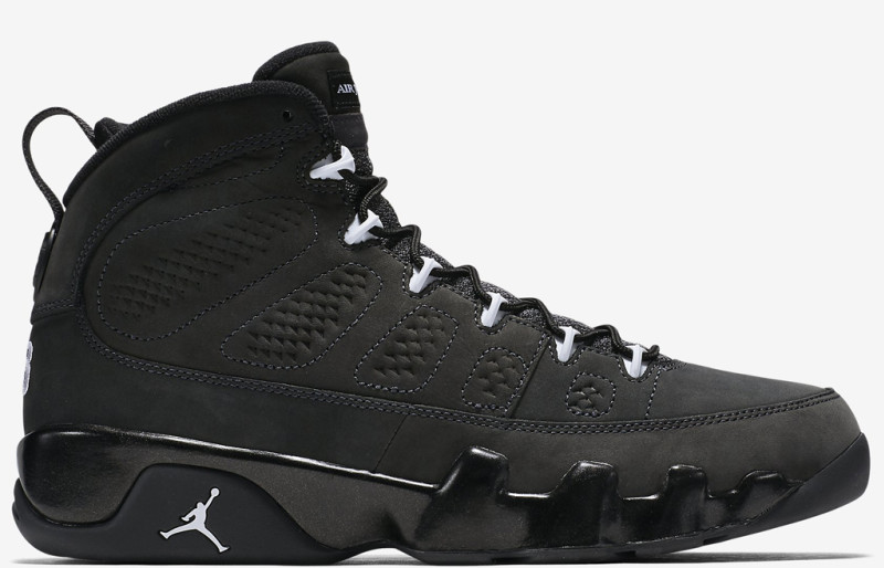 air jordan retro 9 black and white