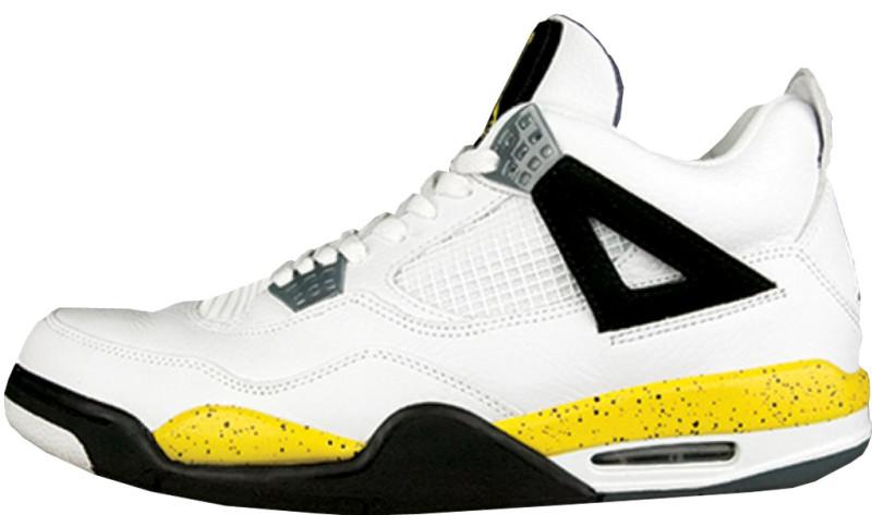 Air Jordan 4 Blue And Yellow