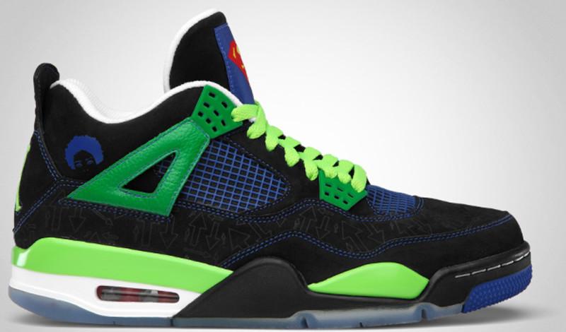 Air Jordan 4 Retro White Chrome Classic Green shoes